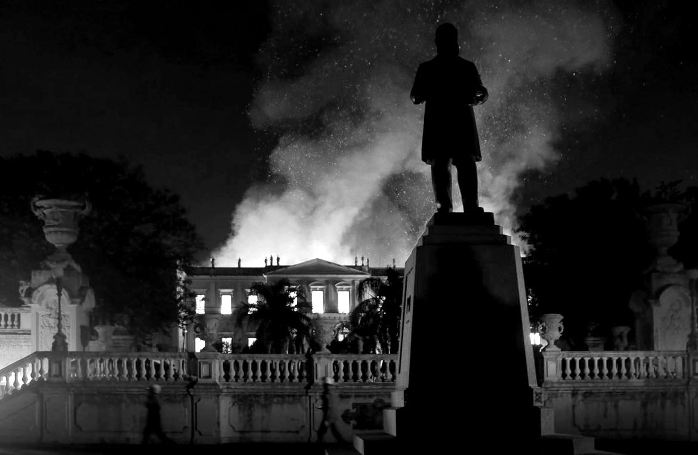 Museu Nacional da Universidade Federal do Rio de Janeiro_Rio de Janeiro_fire 2018
