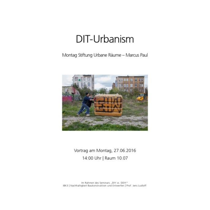 DIT Urbanism