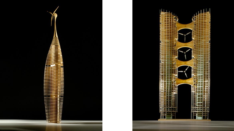 Modellfotos aus der Werkstatt für Architekturfotographie